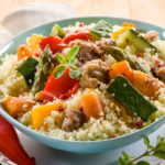 Spicy couscous salat