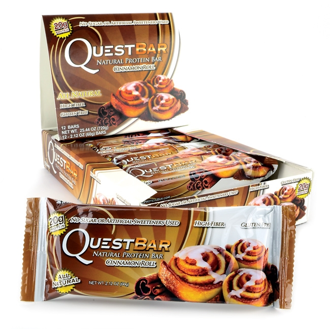 WEB_Image Kjøp Quest Bar Cinamon Roll til best pri-1723300388