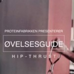 Hip thrust (Se video!)