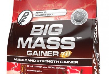For økning i vekt og muskelmasse: 7,1 kilo Big Mass Gainer