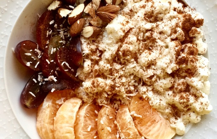 Cottage Cheese Bowl