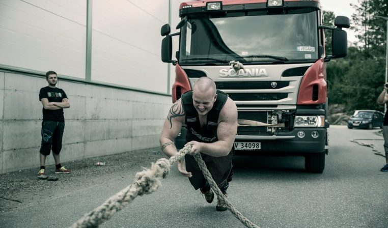 Power and pain – med Strongmanknut (Se video!)