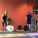 WOD: Bar complex, burpees og wallballs (se film!)